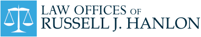 Law Offices of Russell J. Hanlon logo